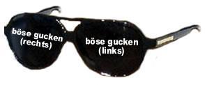 Aua789boeseguckenbrille